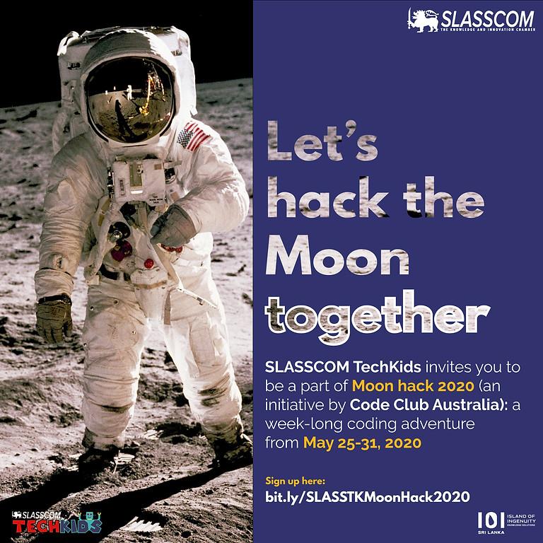 Moonhack 2020 with SLASSCOM TechKids