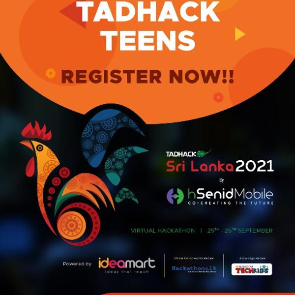 TADHack Teens Sri Lanka 2021
