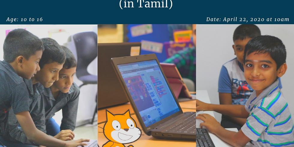 SLASSCOM TechKids - Drawing Shapes using Scratch (Tamil)