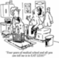 Endocrine and Diabetes Speciality Career Cartoon