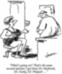 Vascular Surgery Speciality Career Cartoon