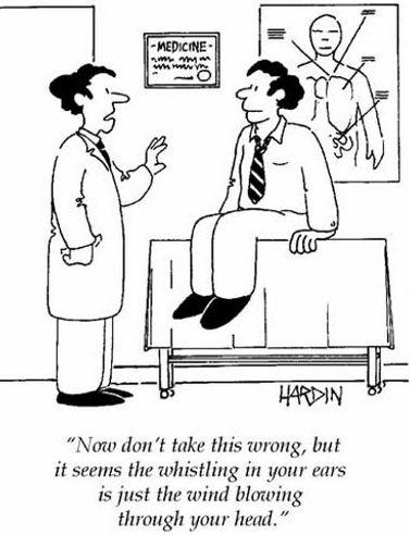 ENT Career Speciality Cartoon