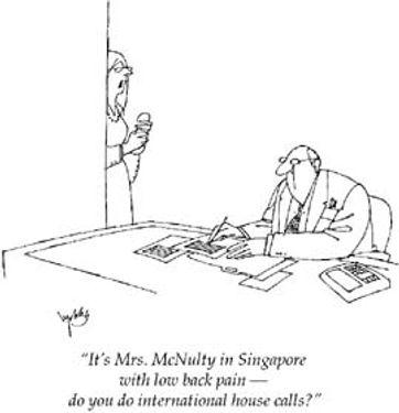 Orthopaedics Speciality Career Cartoon