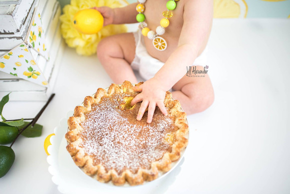 baby's 1st birthday pie