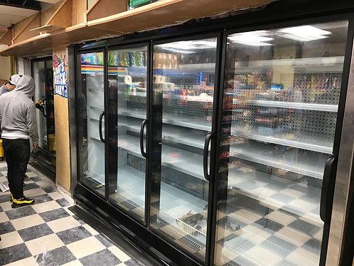 4 doors Hussmann freezer or cooler RL