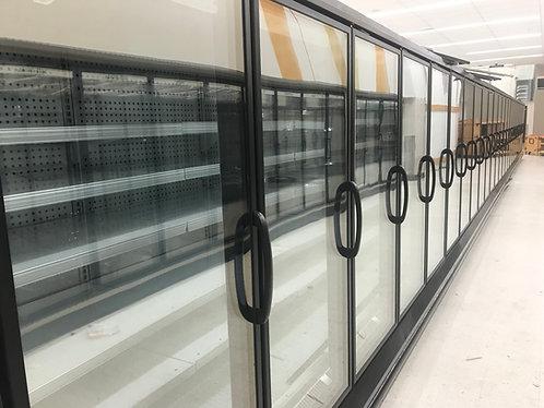 25 doors reaching cooler or freezer hussmann