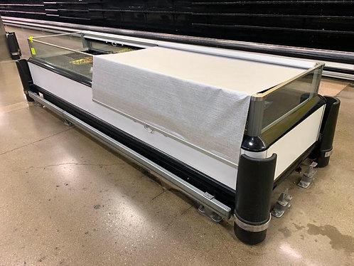 12 ft island freezer Coffin LN Hussmann