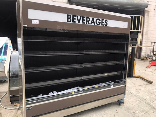 8 ft open cooler self contain