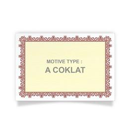 PIAGAM A4 A.COKLAT