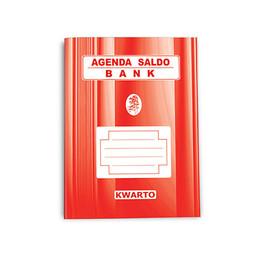 BUKU AGENDA SALDO BANK (Kwarto)