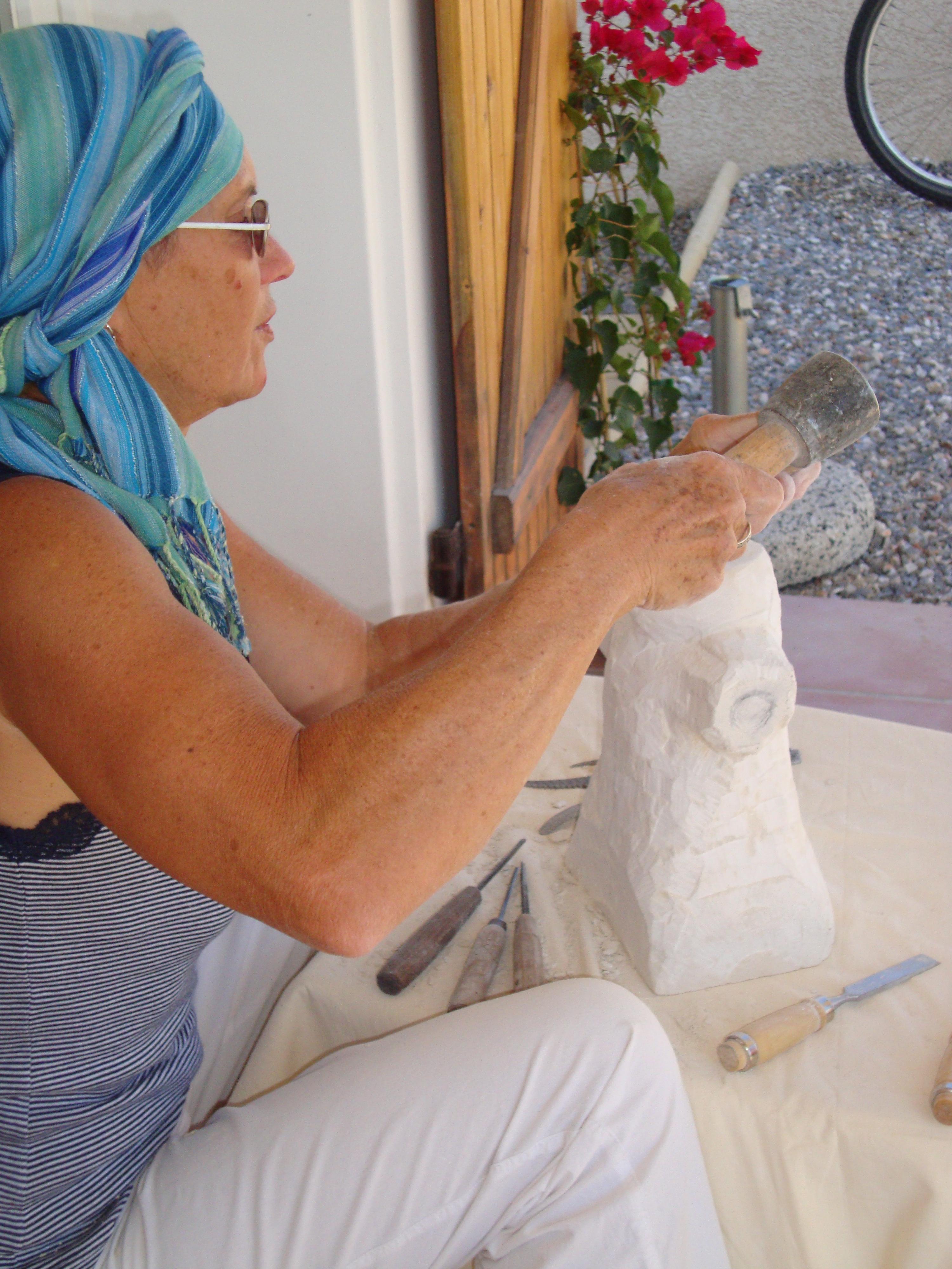 sculpter au soleil