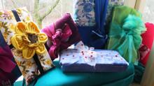 Upcycle balení dárků s látkami