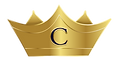 The crown from the Crown Copywriting logo, being worn by the header.