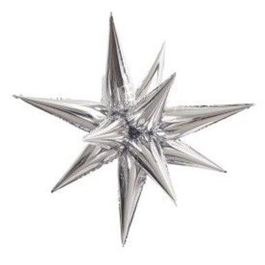 "Balloon Foil 39"" Star Silver"