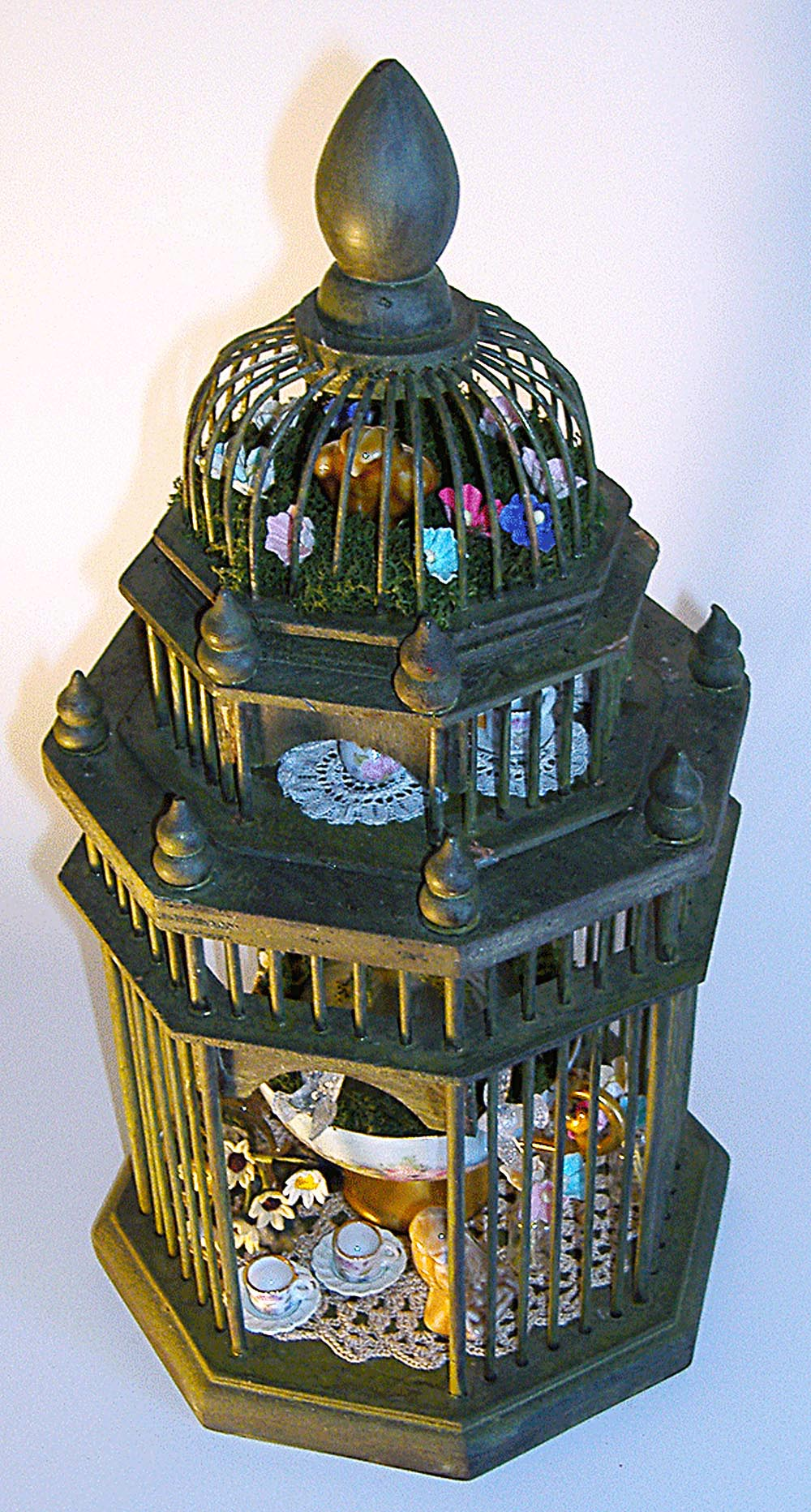 Domed Fairy Garden