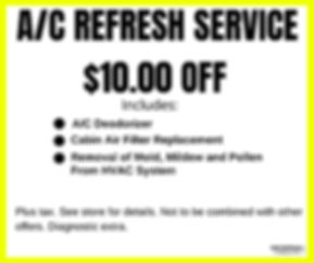 A/C Refresh Service, Longwood, Florida