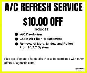A/C Refresh Service, Longwood, Florida