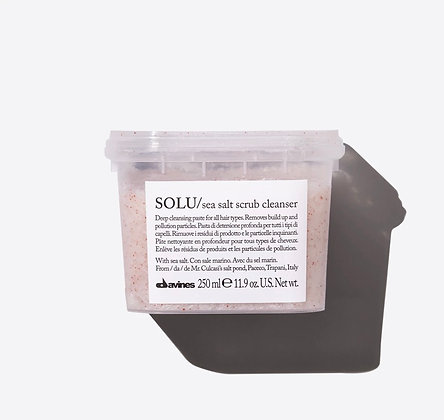 Solu sea salt scrub cleaner