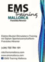 EMS Training Mallorca Kontakt