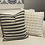 Thumbnail: Navy Striped Pillow Cover