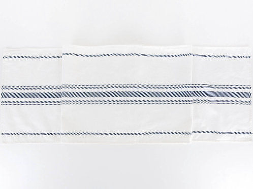 Double Sided Striped Table Runner