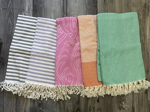 Premium Turkish Peshtemal Fouta Towels