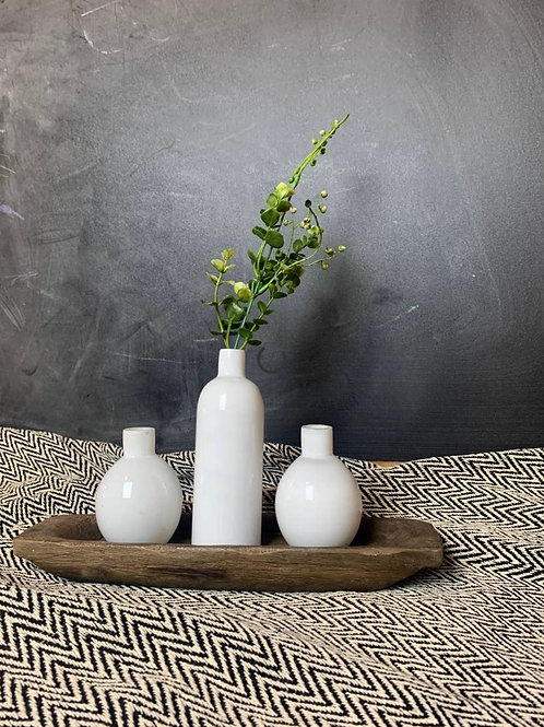 Vase Set with Tray