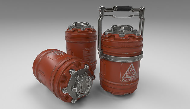 Hard Surface and Substance Designer Practice