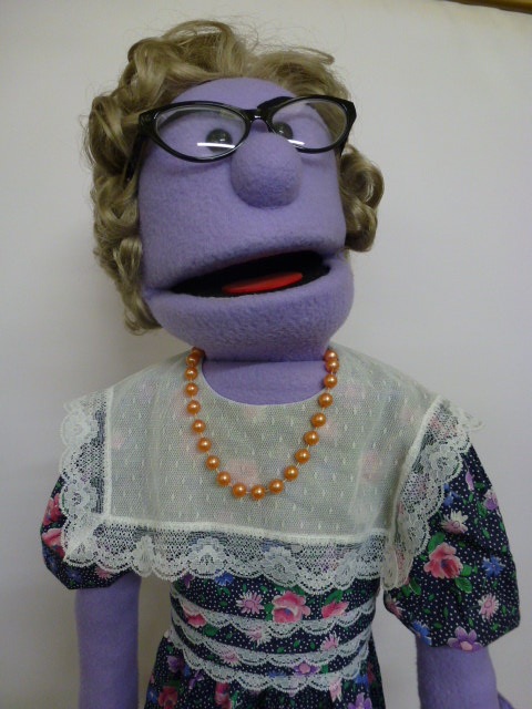 Avenue Q's very own Mrs T
