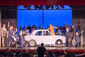 Factory floor car, Made in dagenham set hire,