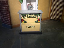 Mushnik's counter for little shop of horrors set hire