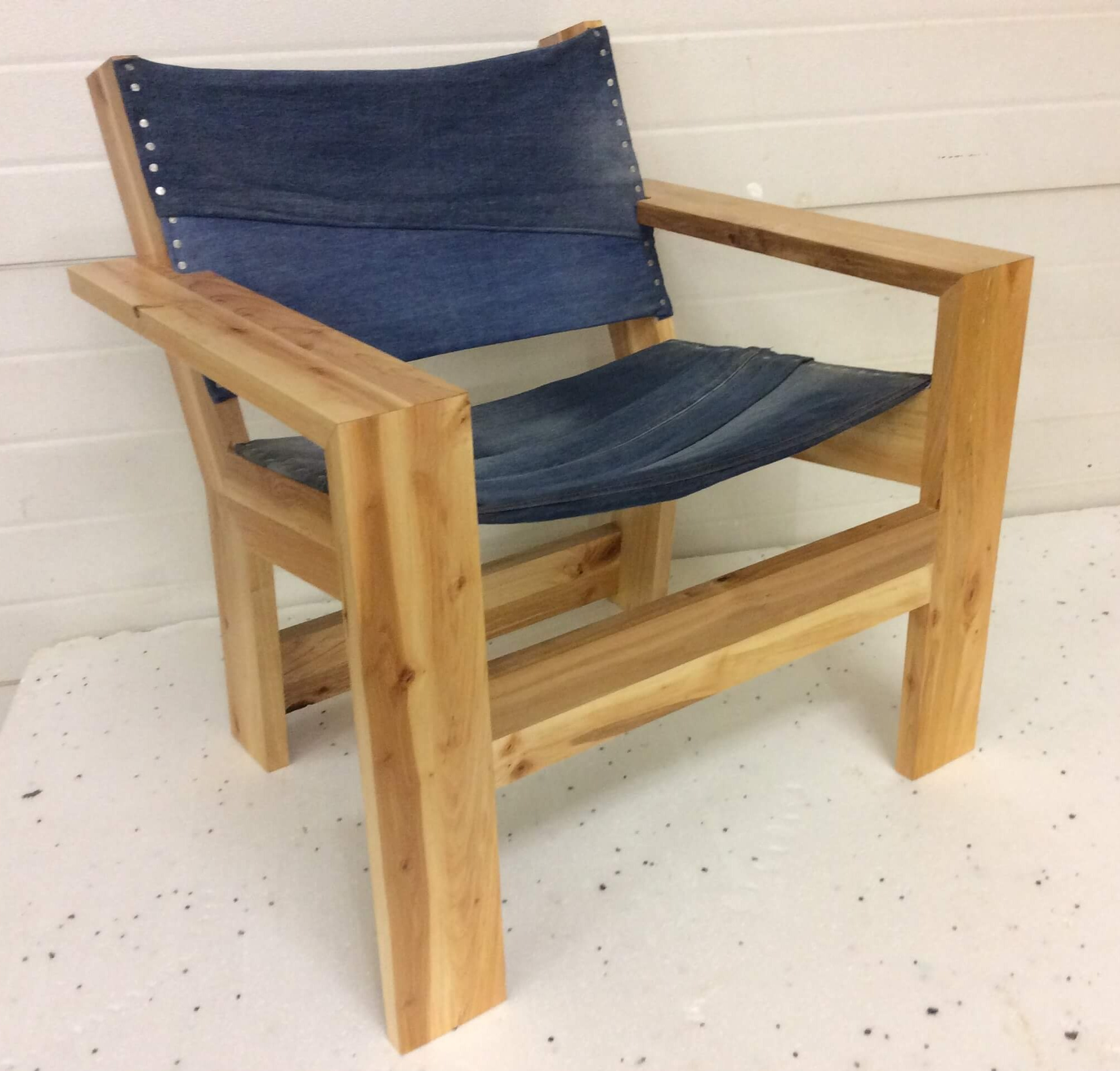Denim chair - made to order