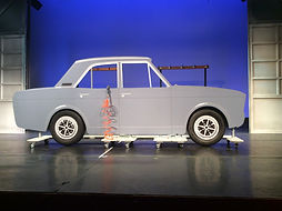 Factory floor car,Made in dagenham set hire