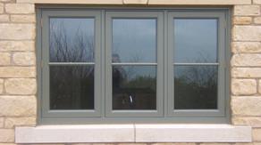 bespoke flush casement window