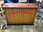 We also have a Golden Garter 'trucked' bar with Calamity Jane's kitchen on the reverse.