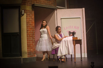The Bridal shop in West side story