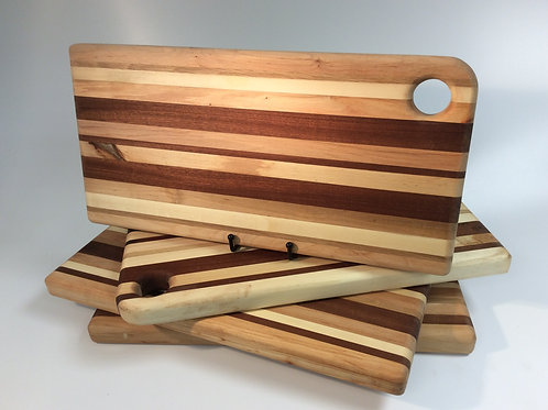 Large Striped Chopping Board Light