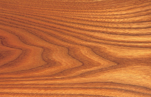 Red Elm  Ulmus rubra. Red Elm has a red-brown heartwood with light brown to grayish-white sapwood. This ring porous hardwood has a very conspicuous and strong grain pattern. The wood is heavy, hard, and strong. Use: Chairs, bending stock, furniture, interi