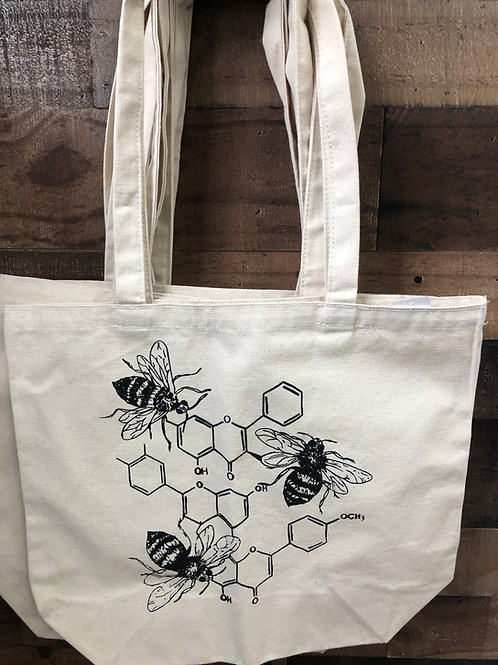 Honey Bee Canvas Tote