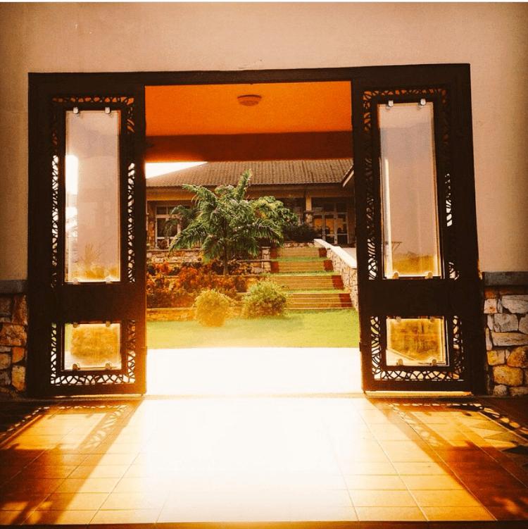 Ashesi Courtyard Gates