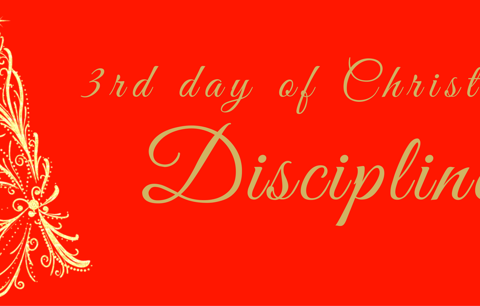 On the 3rd Day, discipline