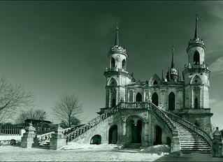 Церковь Владимирской иконы Божией Матери (Рождества Христова)  в усадьбе Быково 1789г