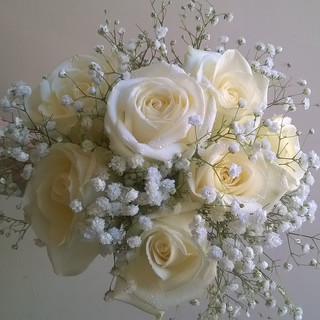 Simple and Stunning Bridesmaid Bouquet