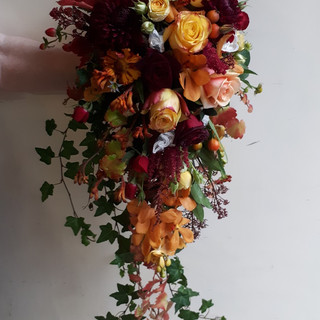 Bride's Shower Wedding Bouquet