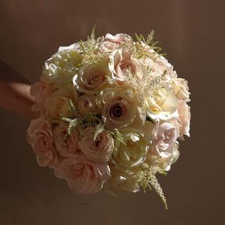 Gorgeous Rose Bride's Wedding Bouquet