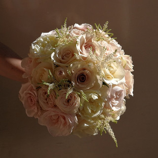 Gorgeous Rose Bride's Wedding Bouquet