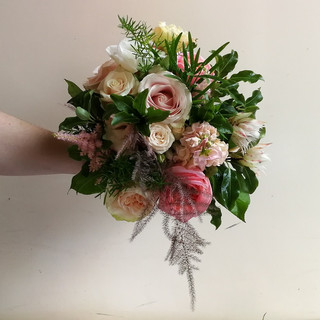 Pretty Summer Wedding Bouquet