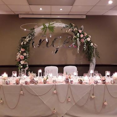 Wedding Venue Flowers By Flower Design O
