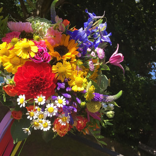 Beautifully Bright Brides's Wedding Bouquet.