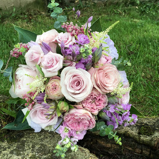 Gorgeous Vintage Inspired Bride's Bouquet